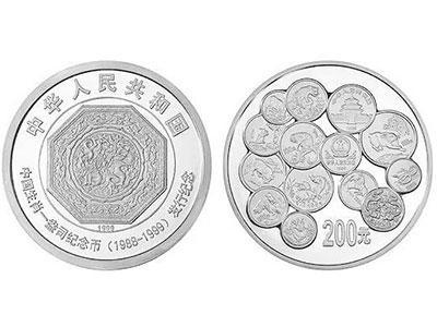 十二生肖1盎司纪念币1公斤银币成为现代珍品