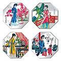 红楼梦纪念币一组1盎司彩色币发行背景