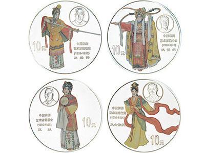 中国京剧艺术彩色金银纪念币(第1组)发行背景