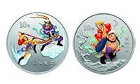 了解西游記二組1盎司彩色銀幣(2枚)詳情