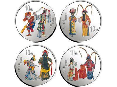 京劇藝術金銀紀念幣第二組收藏價值