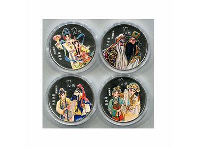 中國京劇藝術彩銀幣(第三組)發行規格