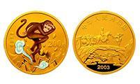 """《西游记》(第1组)""""猴王出世""""1/2盎司彩色金币鉴赏"""