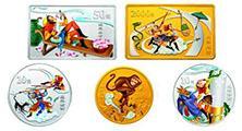 鉴赏中国古典文学名著《西游记》金银纪念币品