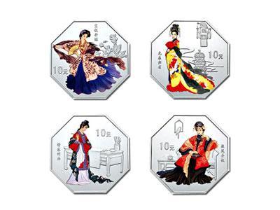 第二组红楼梦金银纪念币币面上的历史故事
