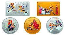 《西游記》第二組彩色紀念金銀幣前景不錯