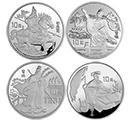 欣賞1996年《三國演義》(第2組)27克圓形本銀幣