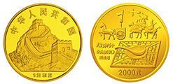 分析古代發明一組1千克指南針金幣